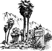 29 Palms Inn | Another must in the area for food, drink and relaxing after a hike.
