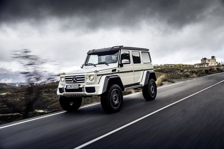 New 2017 Mercedes-Benz G550 4x42 Coming To Conquer A ...