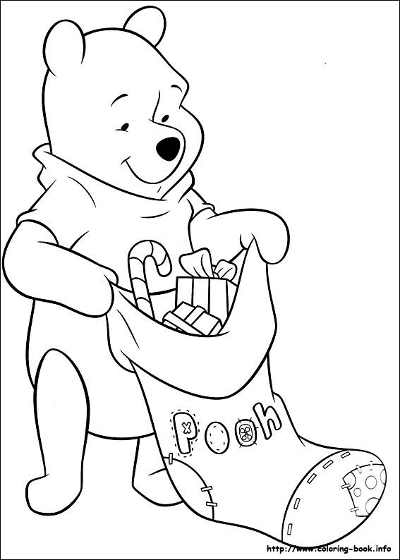 58 best Winnie the Pooh coloring