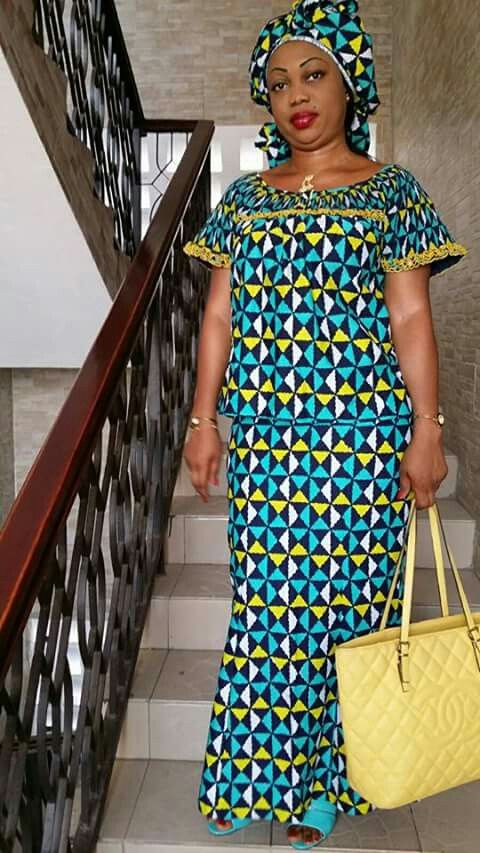 Dkk Latest African Fashion Ankara Kitenge African Women Dresses African Prints African