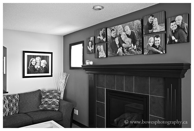 canvas wall display Wall Display Ideas :: Wall Art Wednesday :: Laura Winslow Photography