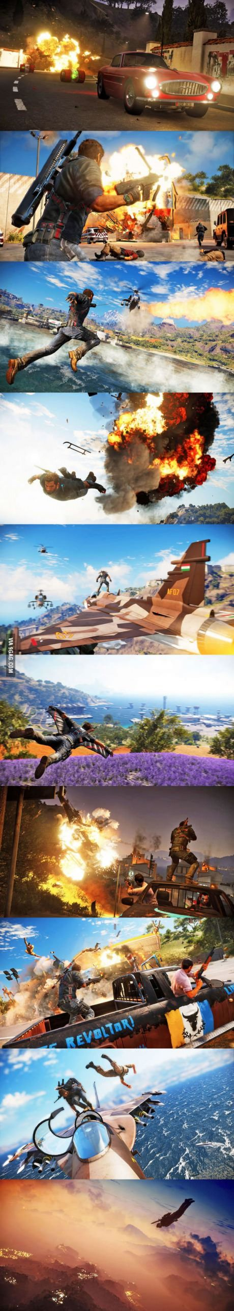 First Just Cause 3 Screens