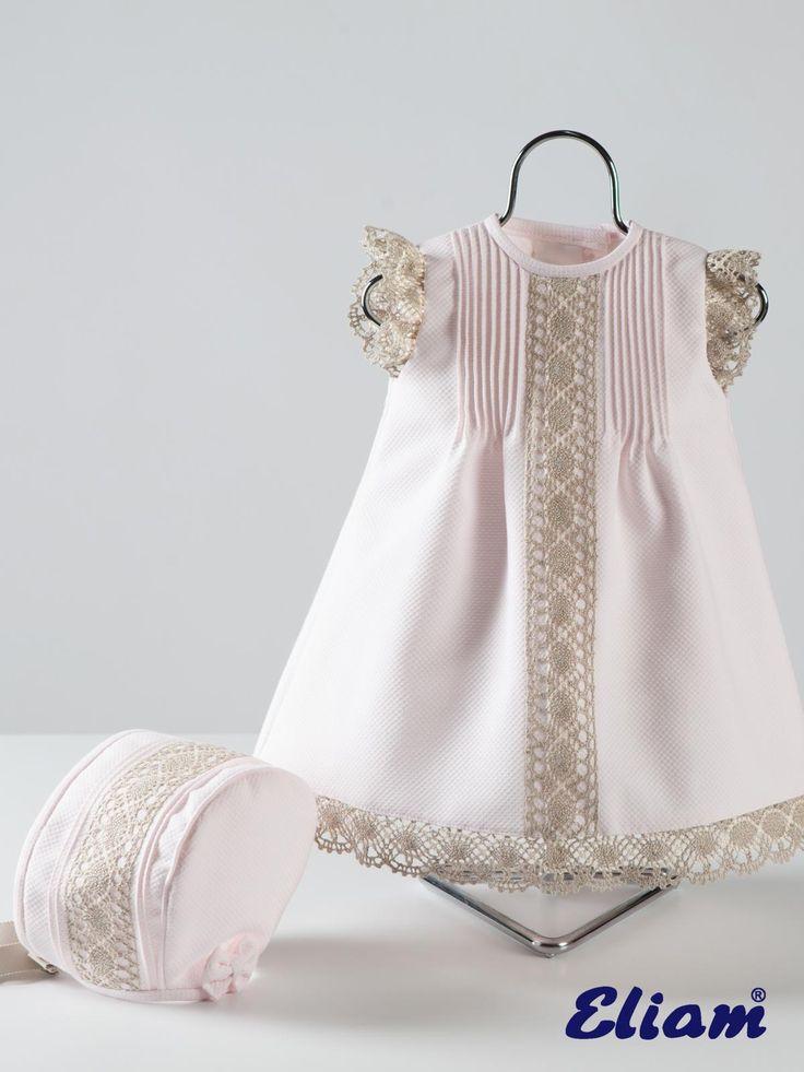 Vestido Piqué - Productos bebé de siempre - Bebé de siempre - Tienda de ropa infantil Eliam