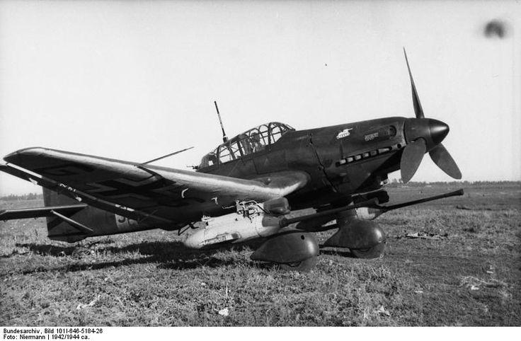 Stuka tankbuster c.1942-44