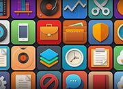 Softies: 44 Icon Set | GraphicBurger