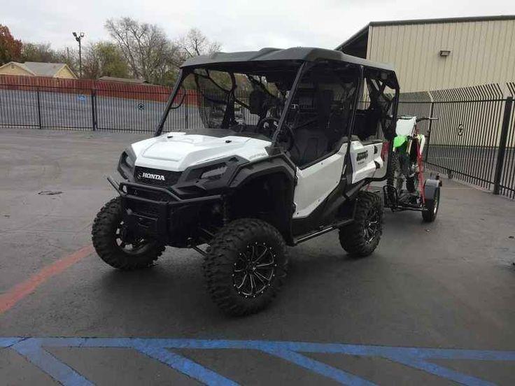New 2016 Honda Pioneer 10005 Deluxe ATVs For Sale in