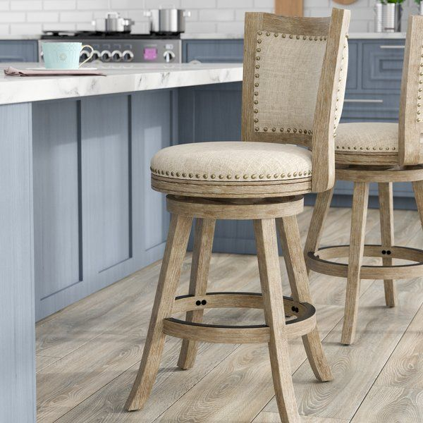 You Ll Love The Rebecka 24 Swivel Bar Stool At Wayfair Great Deals On All Furniture Products With Free With Images Swivel Bar Stools Bar Furniture Bar Stools
