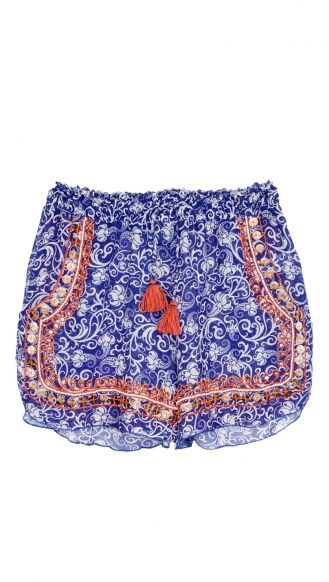 @Taj by Sabrina shorts #prints