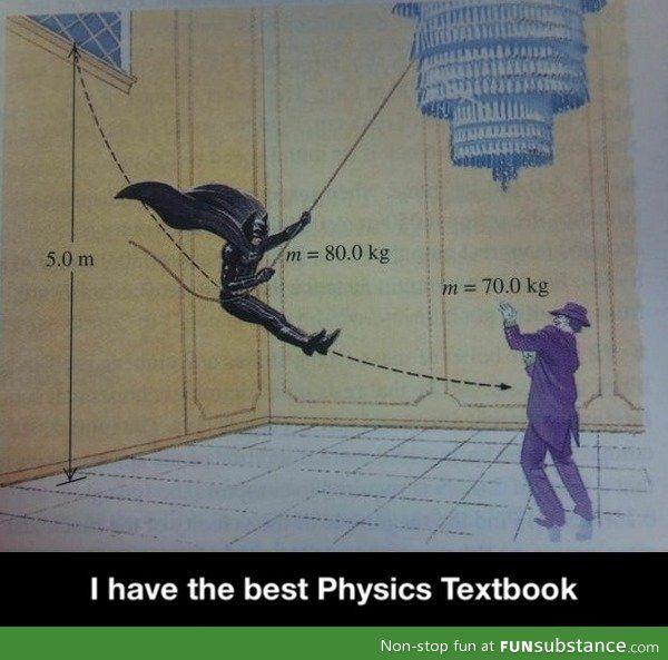 The best physics textbook