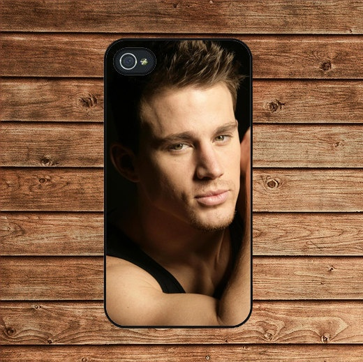 Channing Tatum--iphone 4 case,iphone 4s case,iphone 4 cover,in plastic or silicone case by tomes8899, $12.99