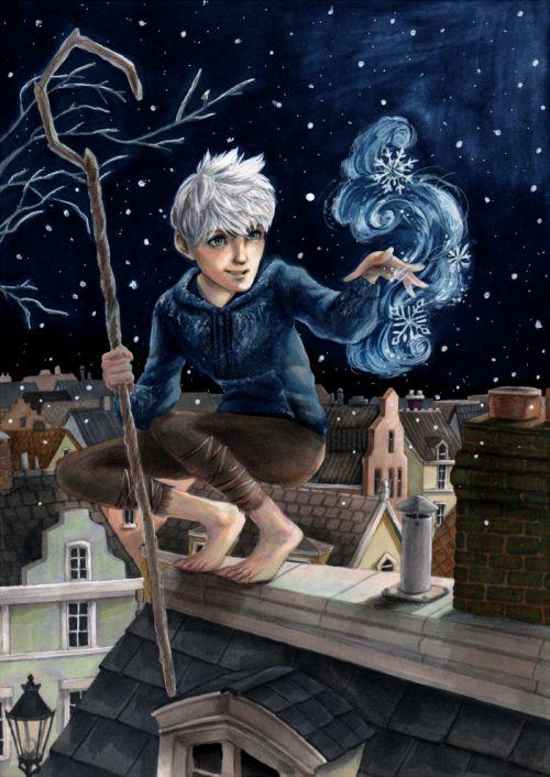 Jack Frost Fan art #ROTG #JackFrost #FanArt