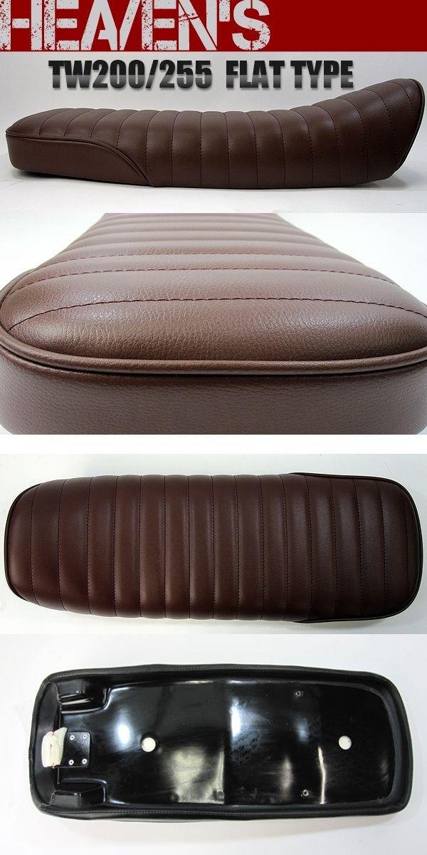 Product details. HEAVENS Flat Type Seat Tuck Roll [TW-BR-C] : Fits:YAMAHA TW225  : YAMAHA TW200 Description:Flat TypeDesign: Tuck Roll...