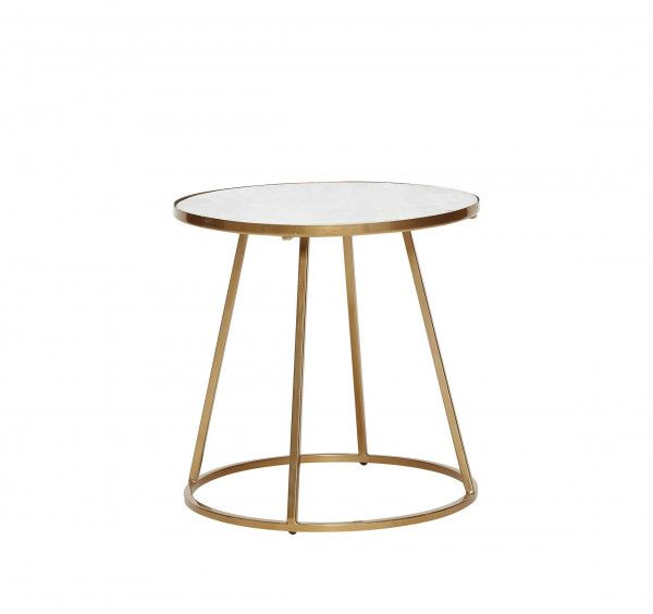 Buy Marble & Gold Table from Kelly Hoppen London