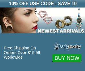 Get 30% Off w/c Love30 Store-Wide at BodyJewelry