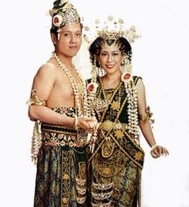 Wedding Dress Javanese Mataram  style: