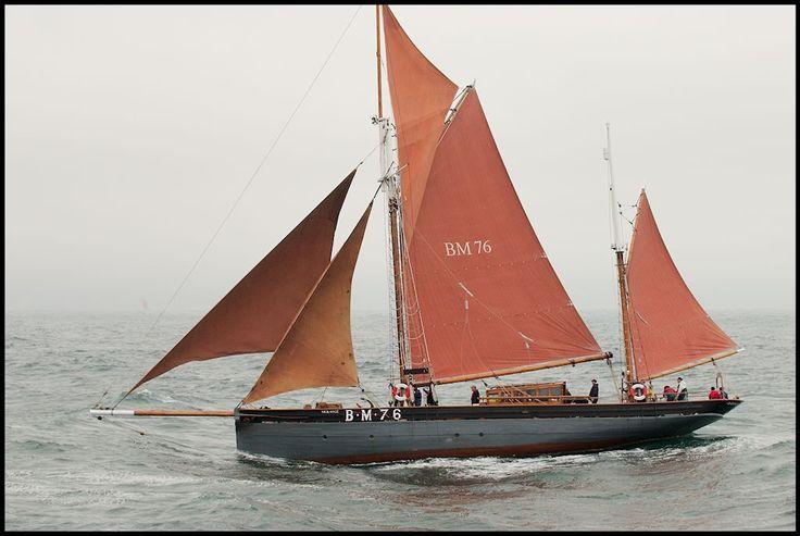 """""""Vigilance"""" BM 76 Brixham trawler"""