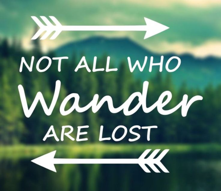 Decal not all who wander are lost car decal laptop decal macbook