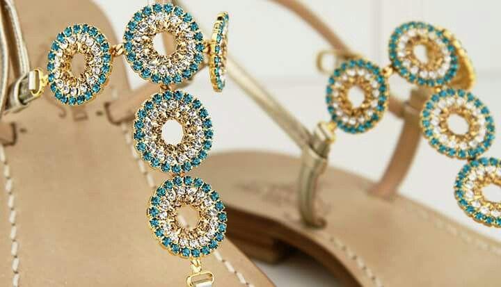 Sandali gioiello infradito Dea Sandals Capri style