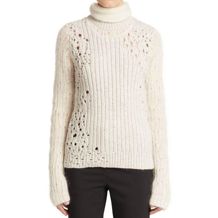 3.1 Phillip Lim Ribbed Dropstitched Turtleneck Sweater – GordonStuart.com