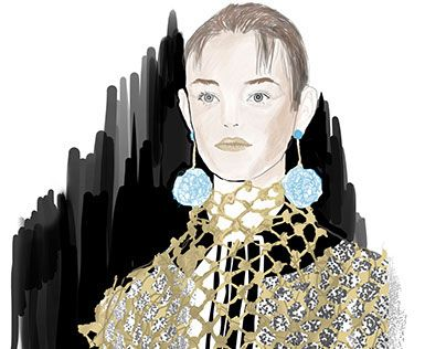 "Check out new work on my @Behance portfolio: ""Prada ss16 illustration"" http://on.be.net/1MtDGGC"
