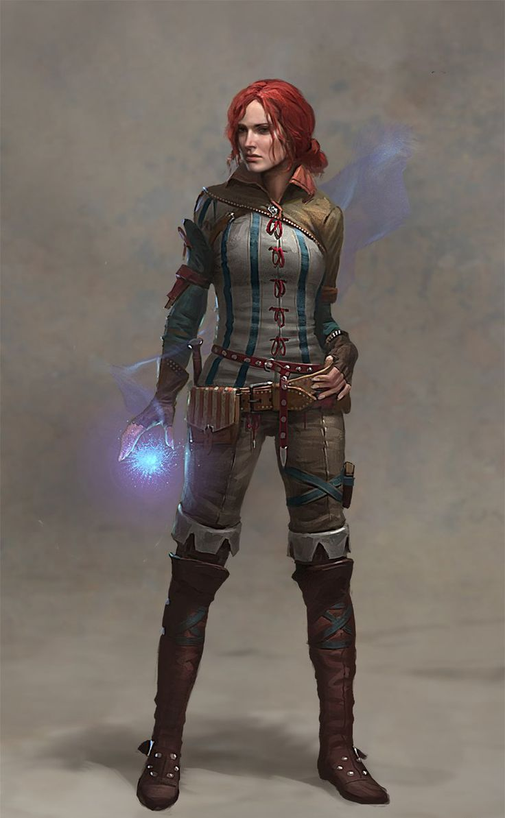 The Witcher 2: Assassins of Kings: Triss Concept Art