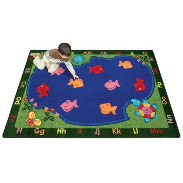 Joy Carpets Fishin Fun Kids Area Rug