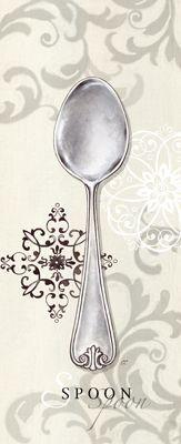 Dinnerware printable - spoon