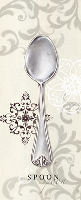 Dinnerware printable - spoon