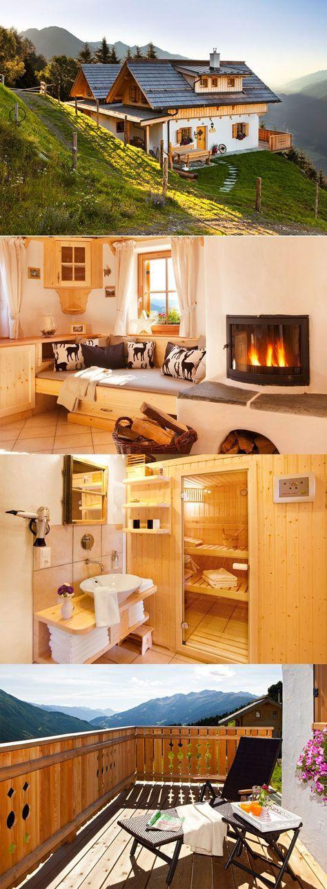 Luxusurlaub direkt auf der Alm gibt's in der Wildererhütte in Kärnten.