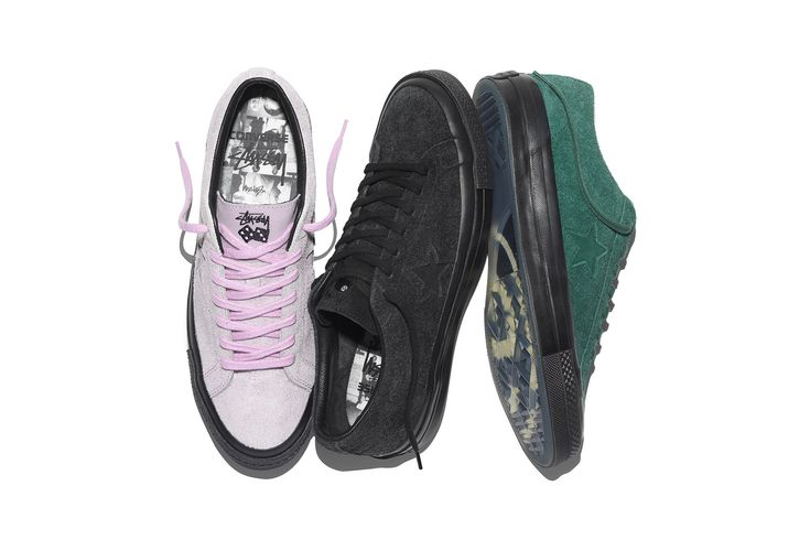 Stussy Converse One Star Silhouette