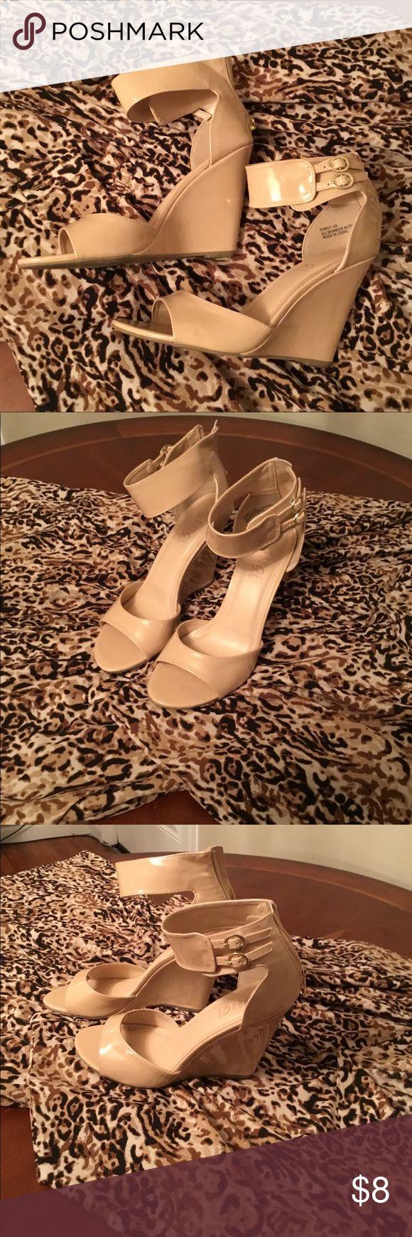 Heels Cream Wedge Heels Rouge Helium Shoes Wedges
