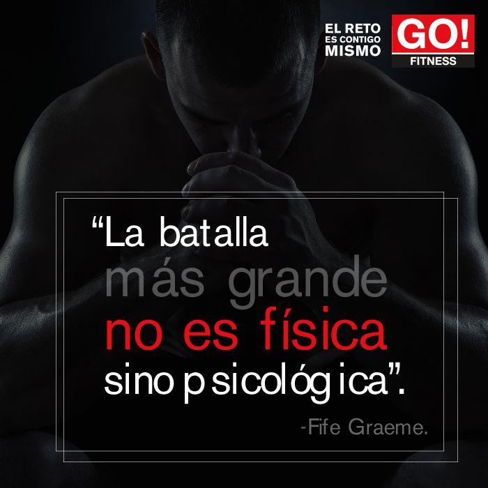 FIfe Graeme. #clasesgo #ejercicio #gym #fit #fuerza #flexibilidad #reto #motivate #frases #graeme
