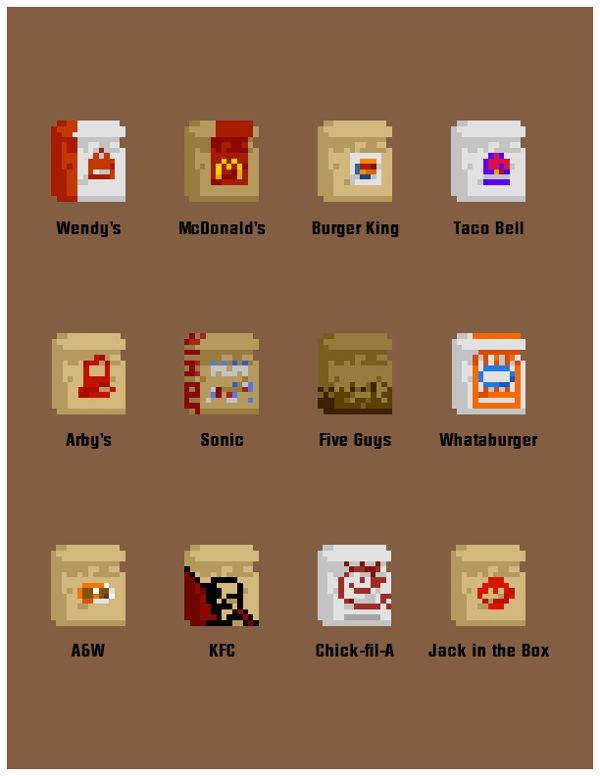 57 best images about Pixel food on Pinterest | See more ...