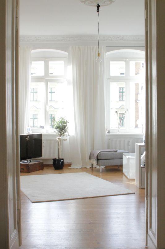 die 25 besten vorh nge ideen auf pinterest fenstervorh nge vorhangideen und fensterdekorationen. Black Bedroom Furniture Sets. Home Design Ideas