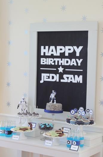 Star Wars Birthday Party Theme Jedi