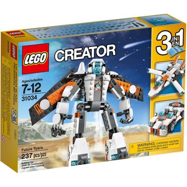 Đồ chơi LEGO 31034 Future Flyer – Robot biến hình