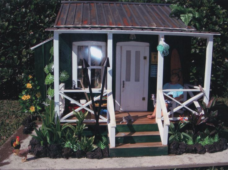 beachside bungalow dollhouse instructions