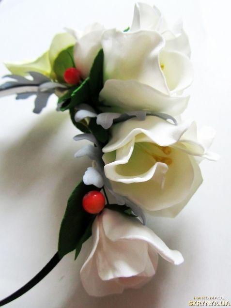 Обруч з квітами