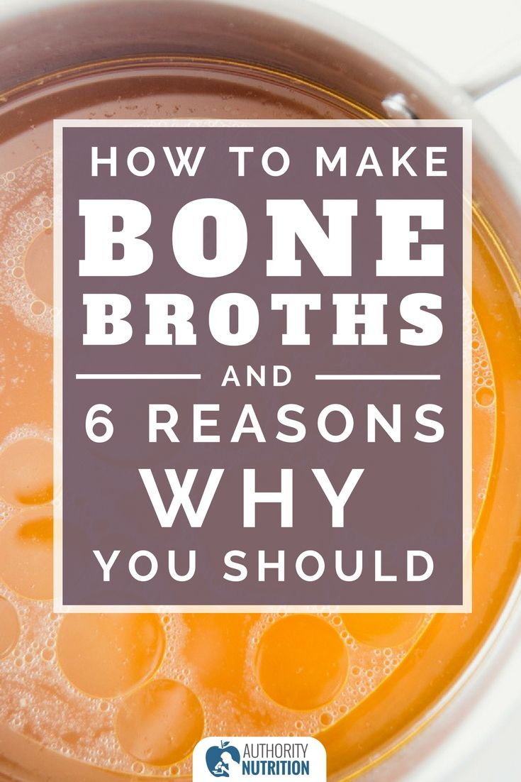 Bone broth is easy to make and may provide many health benefits. Here are 6 reasons to drink bone broth, as well as a recipe to get you started: https://authoritynutrition.com/bone-broth/