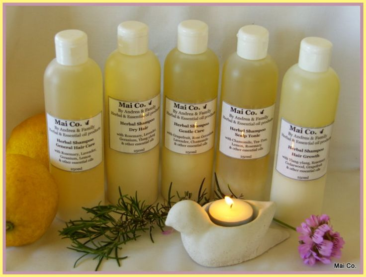 Mai Co Herbal Shampoo range - free of chemicals and using only natures goodness to deal with all those bad hair days!
