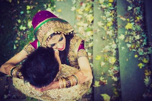 http://weddingstoryz.blogspot.in/ Indian Weddings Desi Weddings Bride makeup jewelry lehenga love groom wedding..