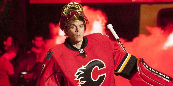 Flames goalie