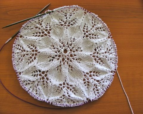 knit doily - Google Search