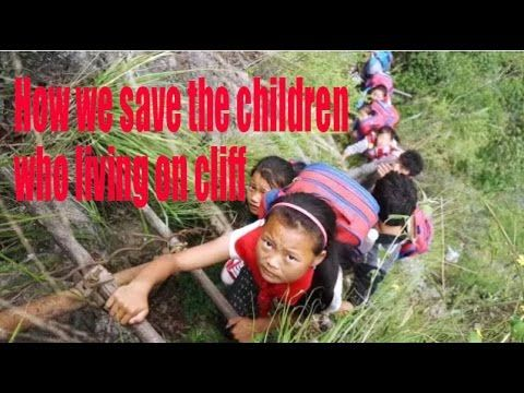 [Public Welfare] How we save the children who living on cliff | More China