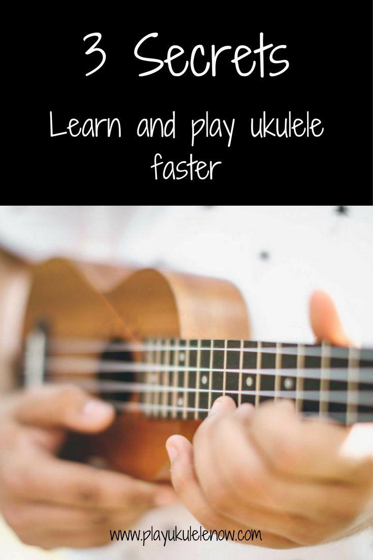 581 best ukulele images on pinterest music classroom banjos and 3 secrets to learn and play ukulele faster hexwebz Choice Image