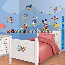 Mickey Mouse stickerset interieurstickers Walltastic jongens