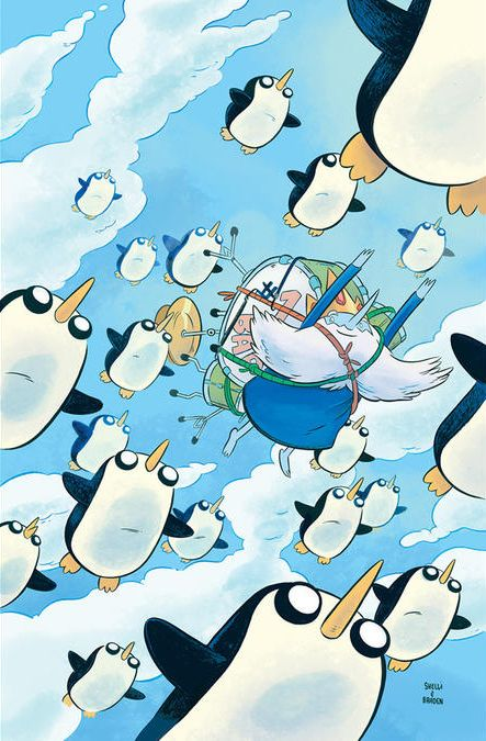 Ice King Comics on the Way The Los Angeles Times is reporting Ice King is getting his own six-part miniseries in comic-book form beginning in January, the heart of winter, no less. Emily Partridge is...