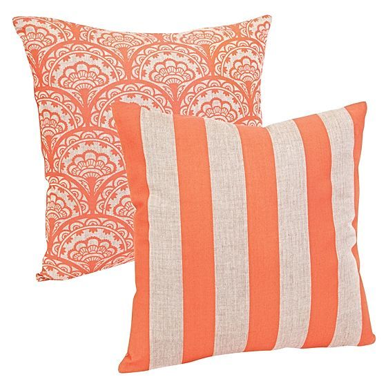 Refreshing splashes of colour and cottony comfort make the Dandelion & Stripe Cushion from ioco a delightful expression of design.