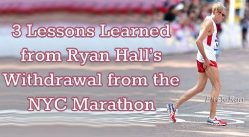 While certainly fast, elite marathoner Ryan Hall has the same fears, struggles and faces the same challenges we do. As such, here are 3 key training principles you can learn from Ryan Hall's marathon struggles and how you can apply them to your training: http://runnersconnect.net/coach-corner/3-lessons-learned-ryan-halls-withdrawal-new-york-city-marathon/