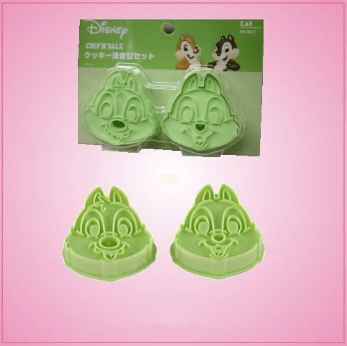 Chip and Dale Cookie Cutters